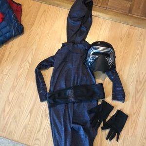 Child size small Star Wars Kylo REN costume